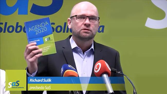 40 opatrení na zlepšenie podnikateľského prostredia - Richard Sulík