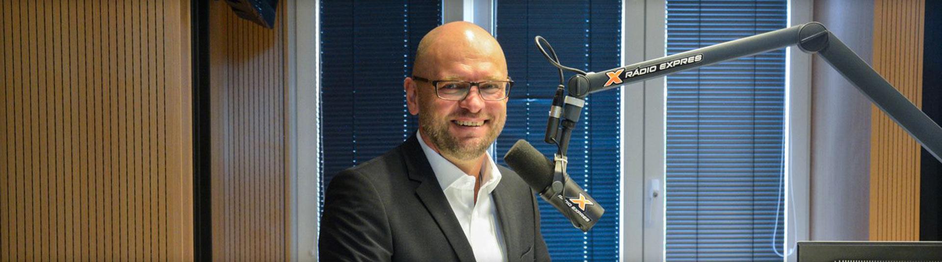 Richard Sulík v rádiu