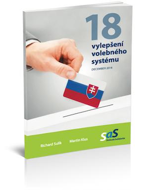18 vylepšení volebného systému na Slovensku