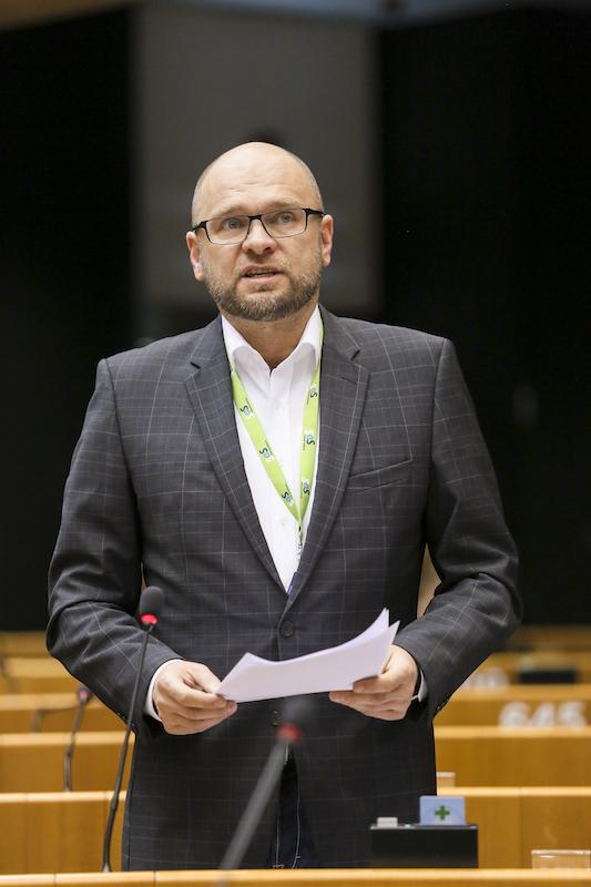Miniplenárne zasadnutie vBruseli 25.3.2015 – Reakcia Richarda Sulíka vrámci rozpravy Závery zo zasadnutia Európskej rady (19-20. marca 2015).