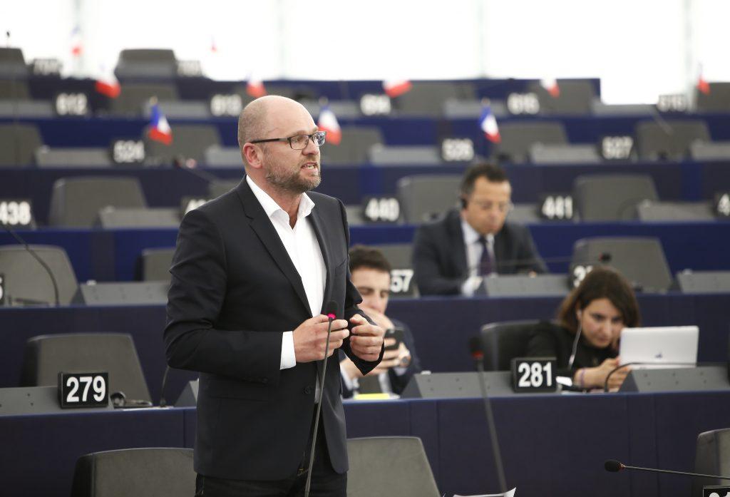 Plenárne zasadnutie vŠtrasburgu 13.1.2015 – Vystúpenie Richarda Sulíka vrámci rozpravy Závery zo zasadnutia Európskej rady (18. decembra 2014).