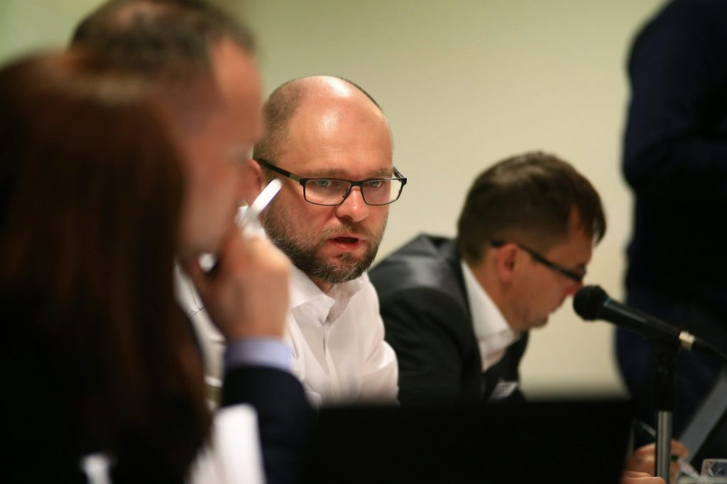 Tlačová konferencia strany SaS - Richard Sulík a Ľubomír Galko.
