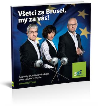 Všetci za Brusel, my za vás!