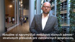Administratívne prekážky pre zahraničných prepravcov a dvojaký meter EÚ | Videokomentár