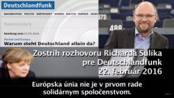 Angela Merkelová proti celej Európe | Rádio Deutschlandfunk