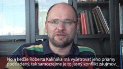 Hanba pre Slovensko – Minister vnútra SR Robert Kaliňák sa drží svojho kresla ako kliešť