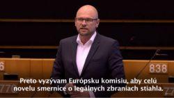 Novela smernice o legálnych zbraniach obmedzí slobodu slušných ľudí | Europarlament
