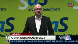 Nový predseda SaS bude mať pevný mandát na štyri roky