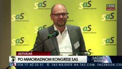 Nový predseda SaS je Richard Sulík