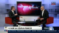 Nový predseda SaS potrebuje silný mandát | Téma dňa na TA3, 16.05.2016