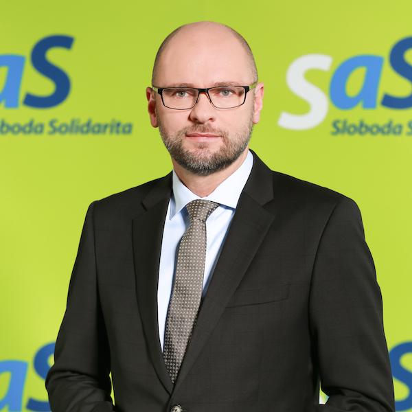 Richard Sulík, fotografia z 5. decembra 2016.