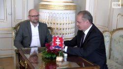 Richard Sulík na návšteve u prezidenta – Situácia na Slovensku je mimoriadne vážna