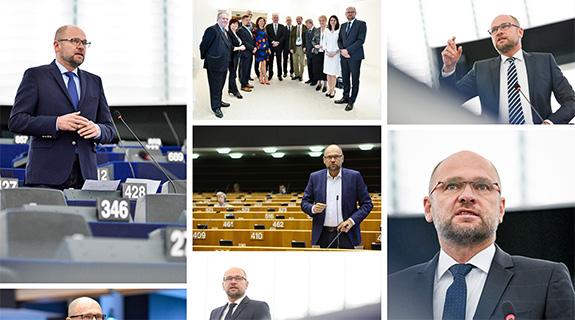 Europarlament Brusel a Štrasburg - Richard Sulík