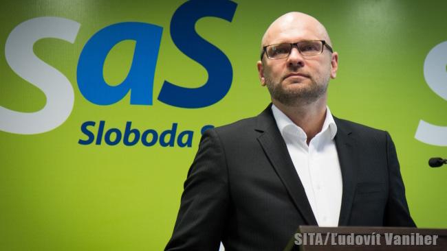 Líder SaS Richard Sulík - NRSR