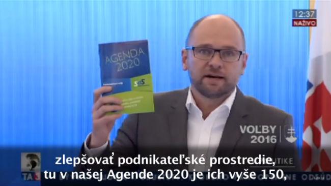 Parlamentné voľby 2016 a 150 opatrení