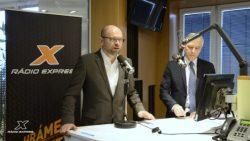 Volebný duel Richarda Sulíka s Jánom Figeľom na rádiu Expres । Parlamentné voľby 2016