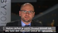 Richard Sulík v predvolebnej diskusii na RTVS | Parlamentné voľby 2016