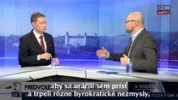 Parlamentné voľby 2016 । Richard Sulík v TA3 – Sme pripravení prevziať zodpovednosť