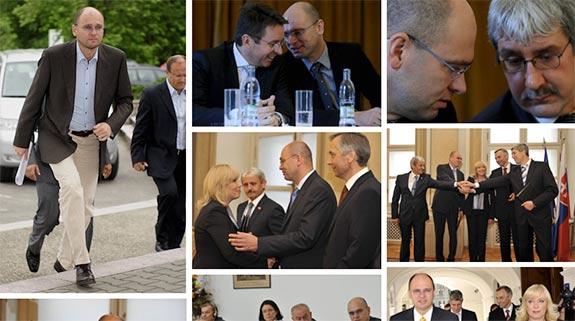 Richard Sulík s politikmi 2010