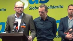 Radoslav Procházka v centrále Sloboda a Solidarita | Máme dôvod robiť si nádeje