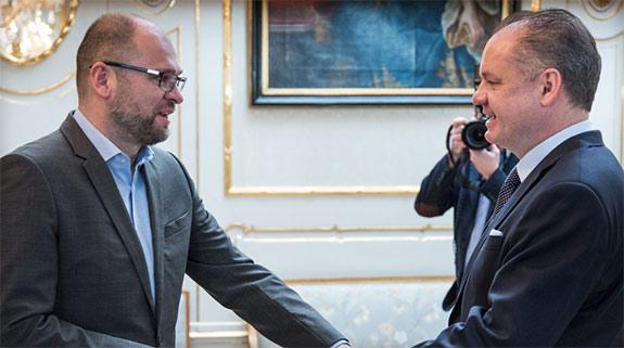 Richard Sulík a Andrej Kiska