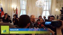 Richard Sulík po stretnutí s prezidentom – Budeme sa snažiť vyhnúť chybám