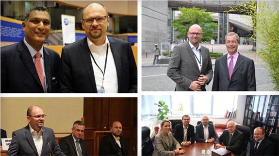 Richard Sulík - s politikmi 2014