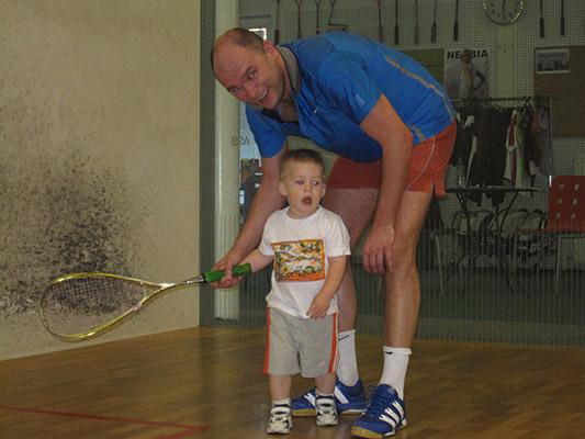 Richard Sulík - Squash