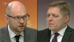 Richard Sulík s Robertom Ficom v RTVS 13.3.2016 | Zostavenie novej vlády