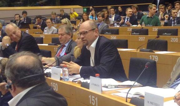Príhovor Richarda Sulíka pri príležitosti jeho uvítania ako nového člena Skupiny Európskych konzervatívcov areformistov (ECR), Brusel, Európsky parlament, 8.10.2014