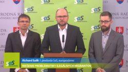 Ilegálni migranti – možné riešenia strany SaS