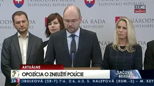 Návrat mečiarizmu a zneužívanie polície - Sulík