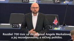 Ničivá utečenecká politika Angely Merkelovej | Europarlament