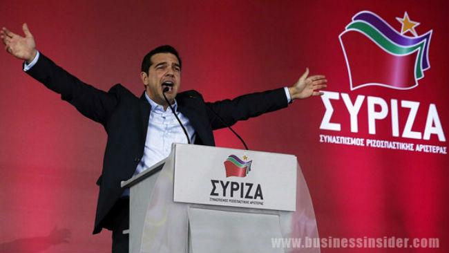 Alexis Tsipras - Syriza, Grécko