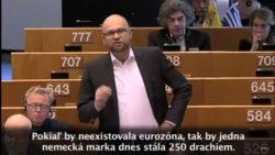 Vystúpenie R. Sulíka v europarlamente k téme: Obnova a odolnosť menovej únie