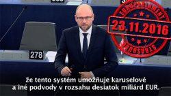 Najvyšší čas zmeniť systém DPH na daň zobratu | Europarlament