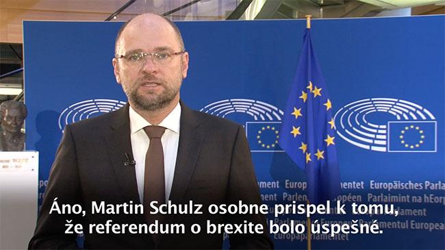 Martin Schulz končí vo funkcii - Sulík