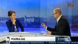 Relácia V politike – Richard Sulík a Ľuba Oravová