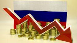 Rubeľ padá a padá
