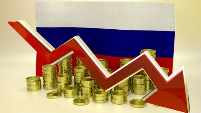 Rubeľ padá