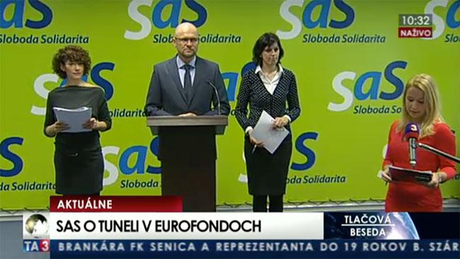 Eurofondy a tunel - Sulík