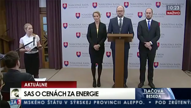 Ceny energií - Jozef Holjenčík | Sulík