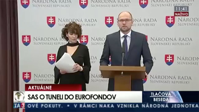 Deloitte tuneluje eurofondy - Richard Sulík