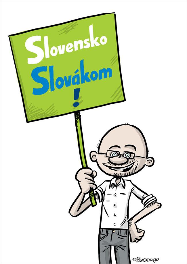 Slovensko slovakom - Richard Sulík