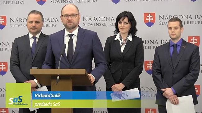 Kandidáti SaS pre voľby do VÚC