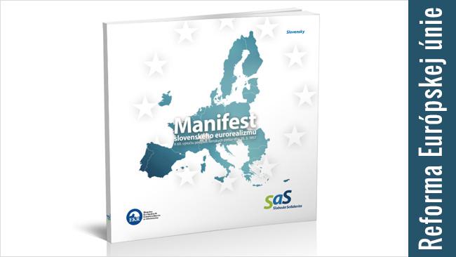 Reforma EÚ - Manifest eurorealizmu