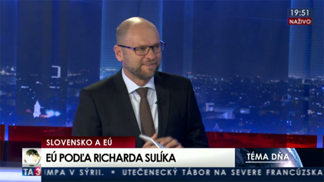 Reforma EÚ - Richard Sulík