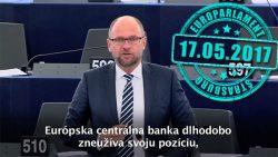 Európska centrálna banka zneužíva svoju pozíciu