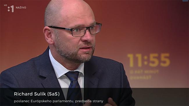 Zvýšiť minimálnu mzdu - Richard Sulík