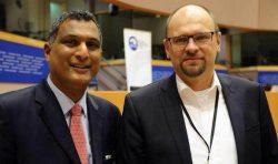 Skupina Európskych konzervatívcov a reformistov dnes privítala Richarda Sulíka
